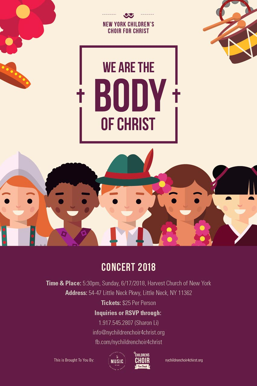 """We Are the Body of Christ"" Concert 2018"